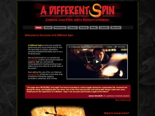 A Different Spin: Circus and Fire Arts Entertainment
