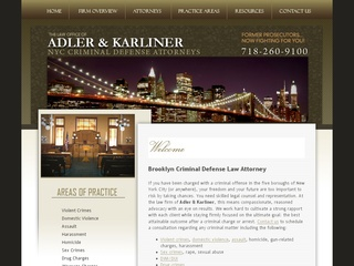 New York Criminal Law Attorney