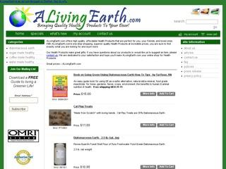 ALivingEarth.com – Diatomaceous Earth