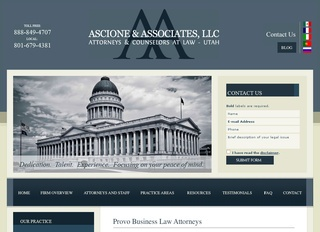 Utah Provo Commercial Litigation Lawyers