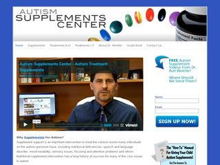 Autism Supplements Center