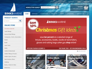 Binks Marine – Boat Accessories