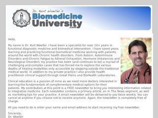 BioMedicineUniversity.com
