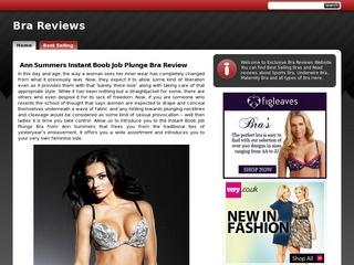 Latest Bra Reviews