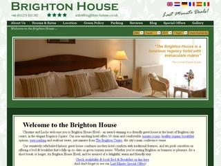 Brighton House Bed and Breakfast