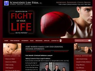 Fort Worth TX Divorce Attorney