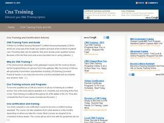 CNA Training