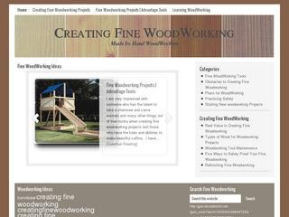 Creating Fine Woodworking