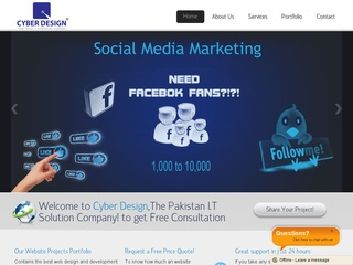 Cyber Design | Website Design Company in Karachi