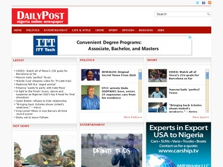 Daily Post – Nigeria Online Newspaper
