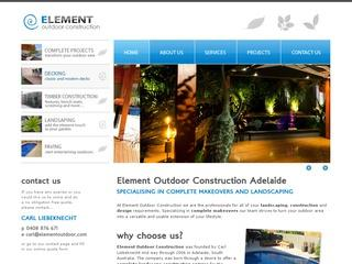 Element Outdoor – Landscaping Adelaide