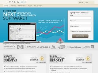 Eval & Go – Online Survey Software & Free Questionnaire Tool