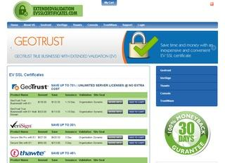 GeoTrust True BusinessId with EV Multi Domain