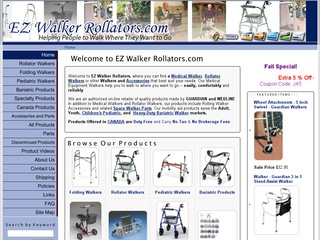 EZ Walker Rollators