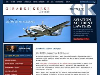 California Airplane Accident Attorney