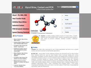 Glycol Brine Coolant PCM
