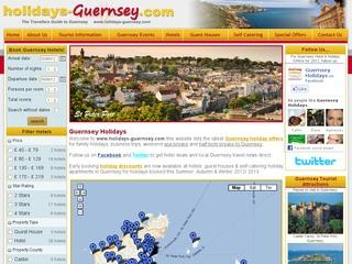 Guernsey Holidays – Hotels, Guest Houses and Self-Catering Accommodation