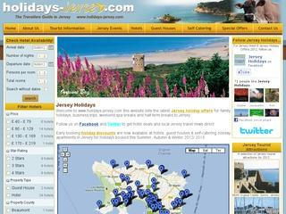 Jersey Holidays – Hotels, Guest Houses and Self-Catering Accommodation