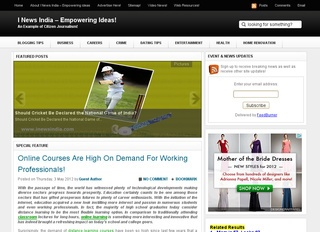 I News India – Empowering Ideas!