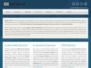 InfiniumSoftech – PHP Development Company