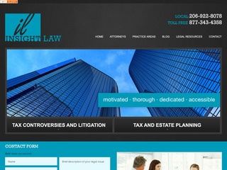 Tax Dispute Law Firm Seattle