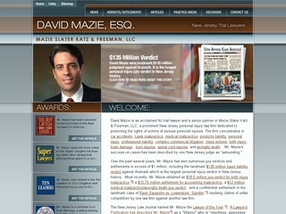 NJ Personal Injury Lawyer – David A. Mazie