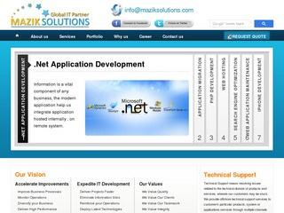 Mazik Solutions – Web Design and Development