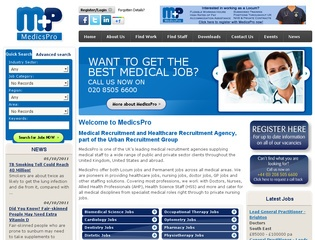 MedicsPro – Medical Recruitment Agency