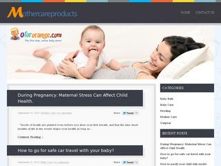 Mothercare Products