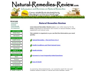 Natural Remedies Review