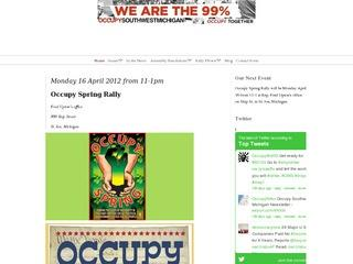 Occupy Southwest Michigan: Rally, Engage, Meet, Gather, and Learn.