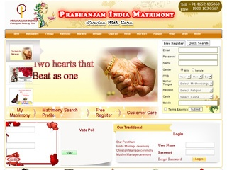 Prabhanjam India Matrimony