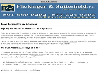 Utah Auto Accident Law Firm