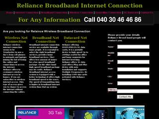 Reliance Broadband in Hyderabad