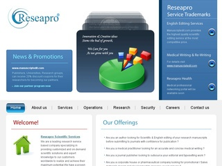 Reseapro Scientific Services Pvt. Ltd