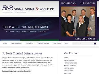 St. Louis MO Criminal Law Lawyer