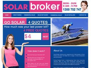 Solar Broker – Solar Panel Provider