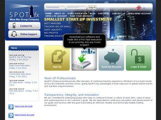 SpotFX Forex Brokerage Services