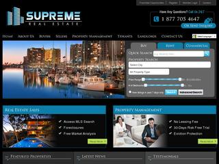 Supreme Real Estate & Property Management