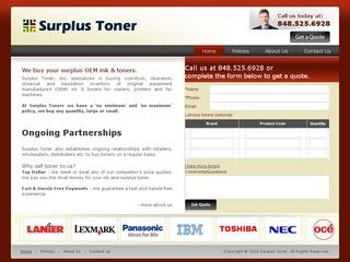 Surplus Toner – Sell Toner