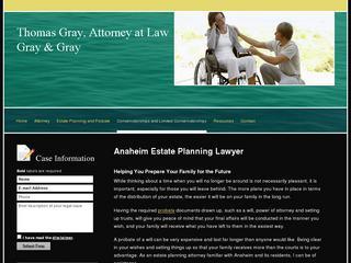 Anaheim Wills and Trusts Attorney