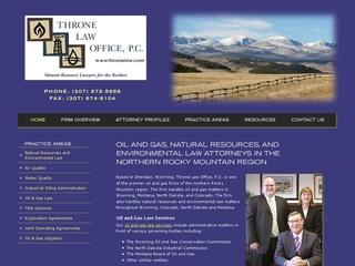 Wyoming Environmental Law Attorney