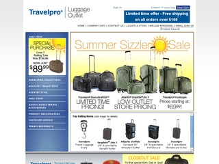TravelPro Luggage Outlet