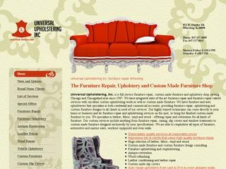 Custom Furniture, Upholstery and Repair