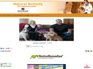 Natural Remedies for People and Pets