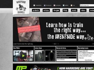 Westside Barbell – Powerlifting Equipment – Louie Simmons