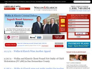Wallin & Klarich: A Law Corporation