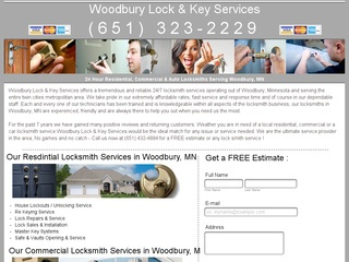 Woodbury Lock & Key Services