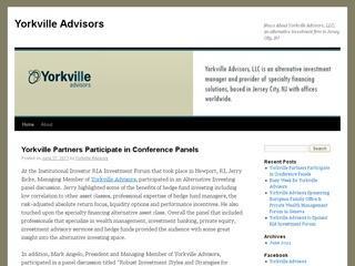 Yorkville Advisors Sec